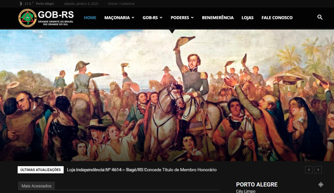 aparecer no google2 - GOB-RS Grande Oriente do Brasil