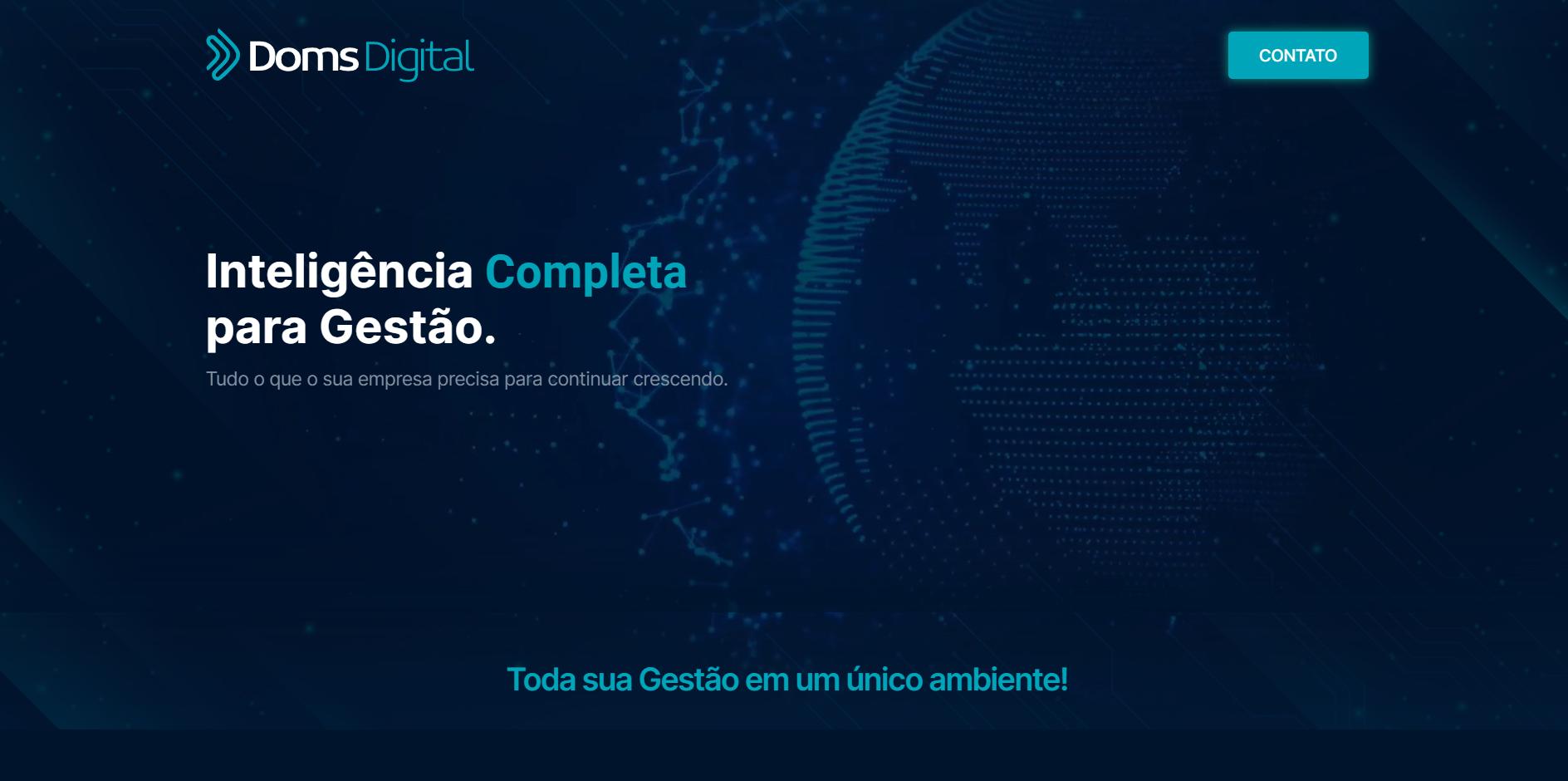 Doms Digital - Inteligência Completa para Gestão